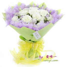 The bouquet of flowers « Expectation »