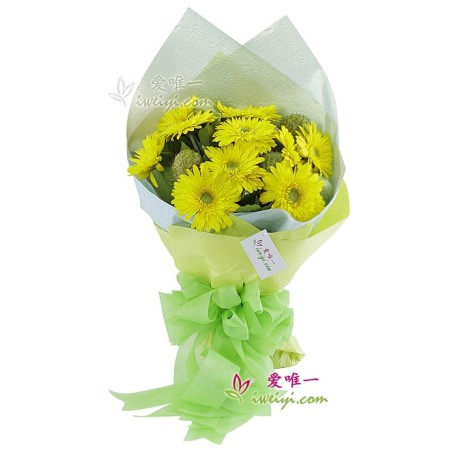 The bouquet of flowers « Sunny mood »