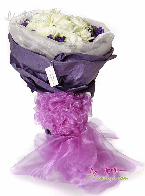 The bouquet of flowers « Exceeding fascinating and charming »
