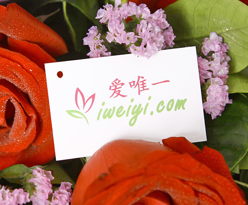 red roses delivery in China