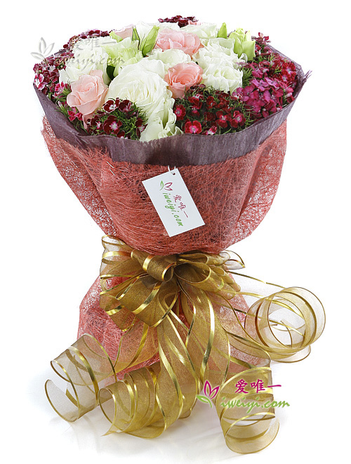 The bouquet of flowers « Romantic and Sweet »