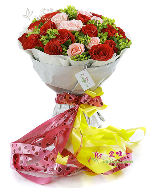 The bouquet of flowers « Love Story »