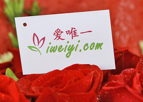 China red roses delivery