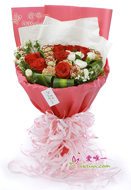 The bouquet of flowers « Dedication of love »